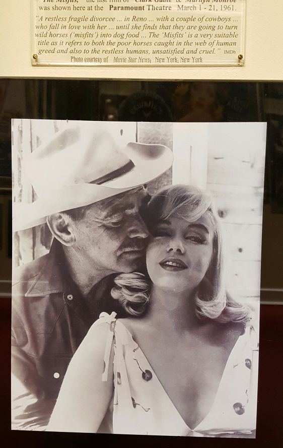 Clark Gable and Marilyn Monroe in 'The Misfits'