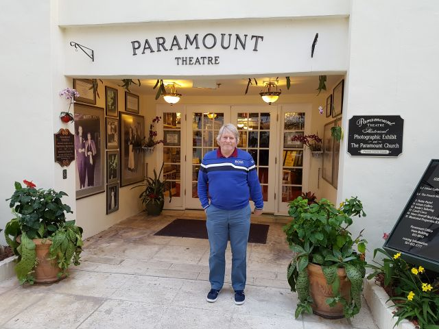 George Morris from Crail in Scotland visits the Paramount Theatre.
