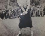 Padraig Harrington admiring Audrey Hepburn's grip and takeaway.