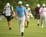 Dustin Johnson leads the way in the semi final of the Dell Match Play