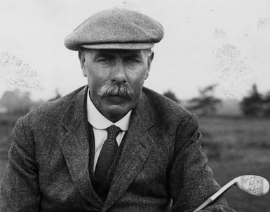 Legendary Scotland golfer and course designer, James Braid