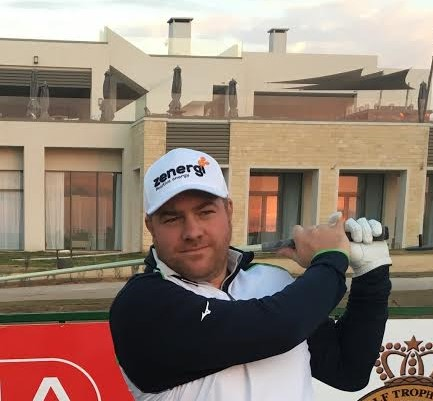 Lee Corfield leads after two days in 2017 MENA Tour opener in Casablanca.