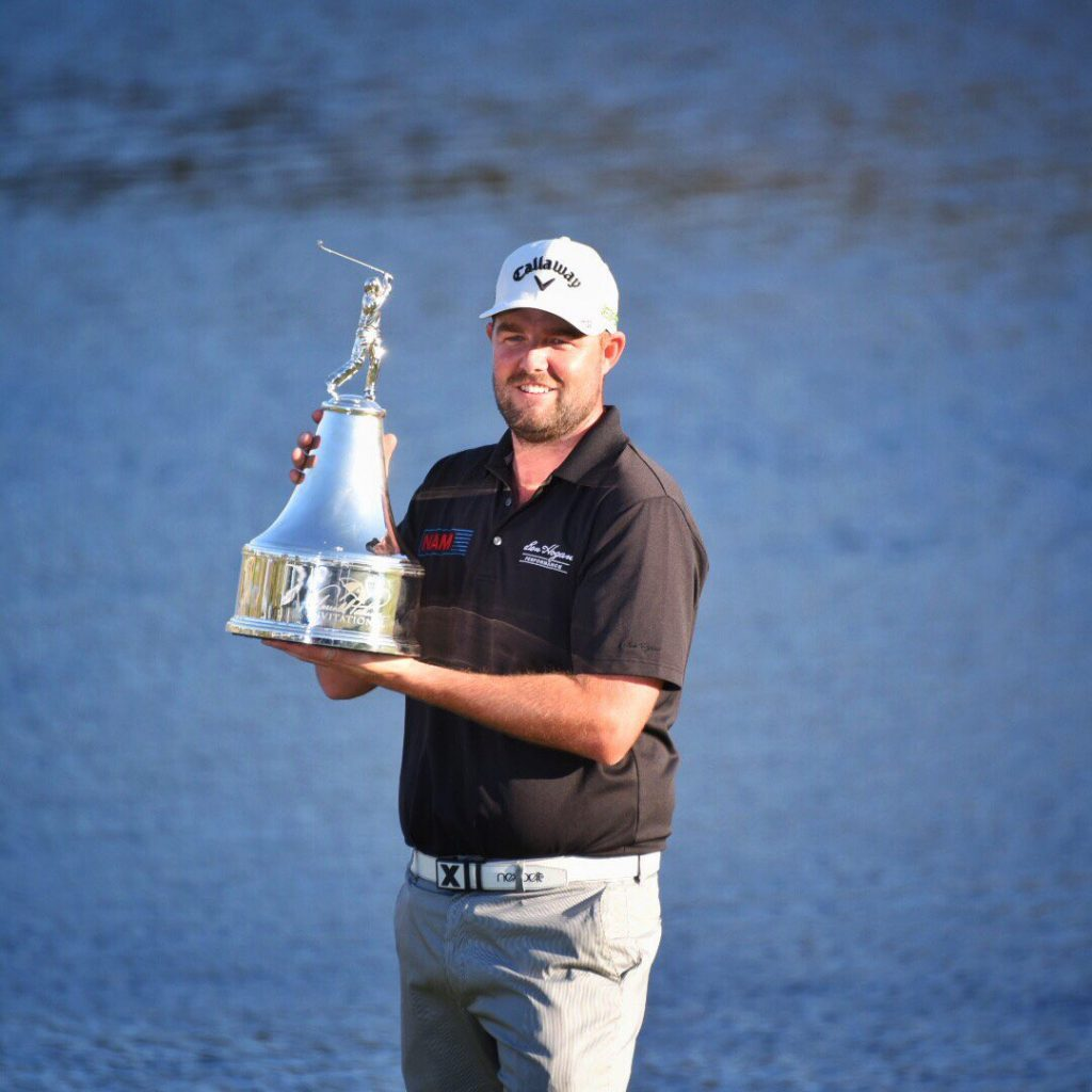 Marc Leishman ends a 5-year PGA Tour victory drought to capture the 2017 Arnold Palmer Invitational (Photo - PGA Tour)