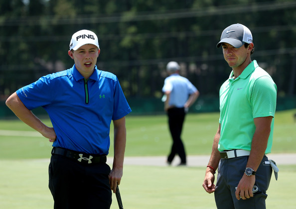 Rory McIlroy and Matt Fitzpatrick.