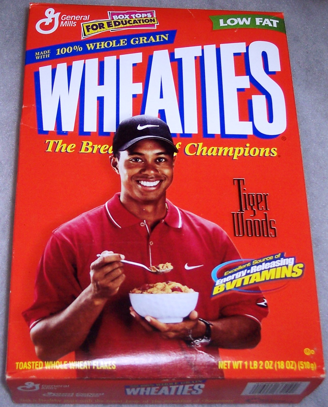 You've Made It When Your Photo Adorns A Box Of Wheaties
