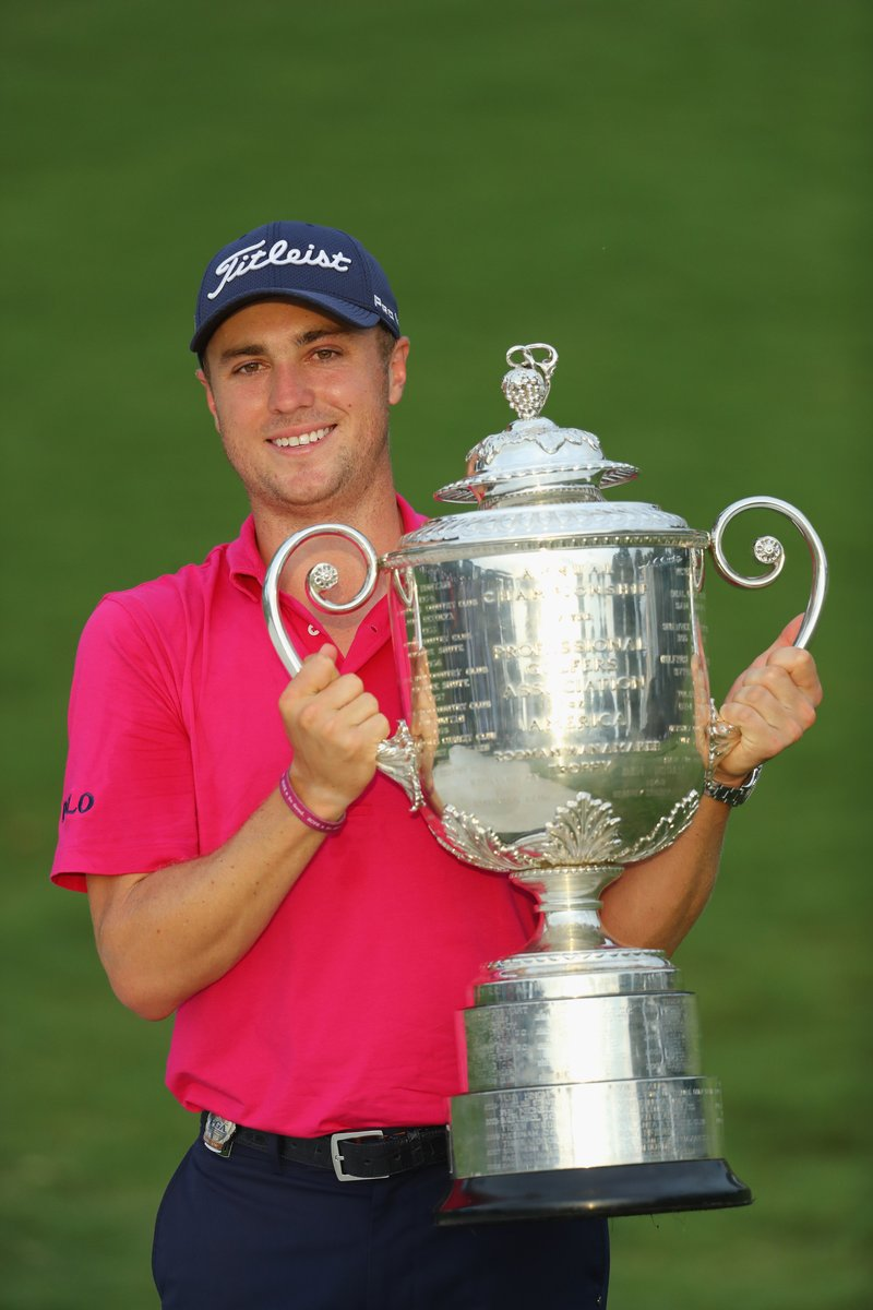 Justin Thomas Wins Pga 21 Days After Sharing Birkdale House With Jordan Spieth Golf By Tourmiss