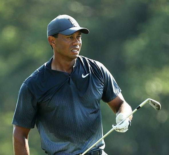 Tiger Woods Sweating It Out Day Two 2018 Players Championship